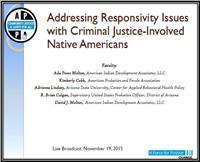 Addressing Responsivity Issues for American Indian/Alaska Native Individuals on Community Supervision