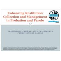 Enhancing Restitution Collection and Management