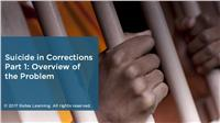 Suicide in Corrections Part 1: Overview of the Problem